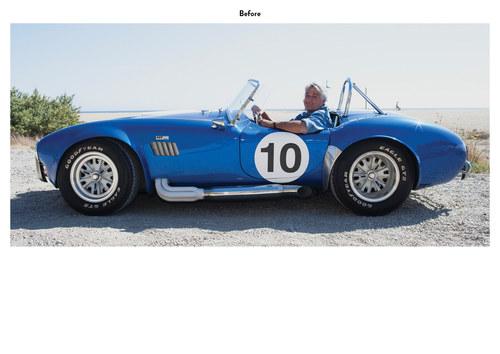 The Jay Leno Show | NBC Show Car Art (Before)
