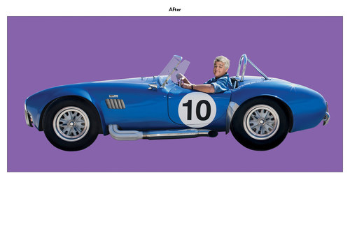 The Jay Leno Show | NBC Show Car Art (After)