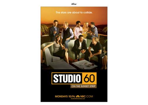 Studio 60 | NBC Show Key Art (After)