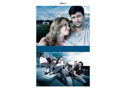 Friday Night Lights | NBC Show Poster Art (Before)