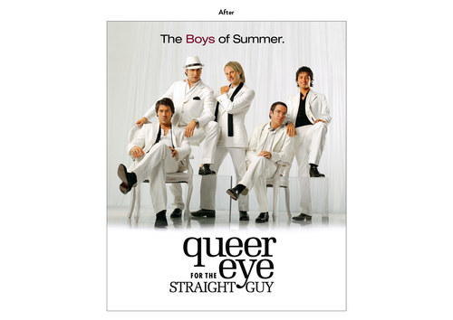 Queer Eye for the Straight Guy, Season 2 | Bravo Show Key Art (After)