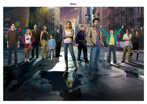 Heroes | NBC Show Key Art (Before)