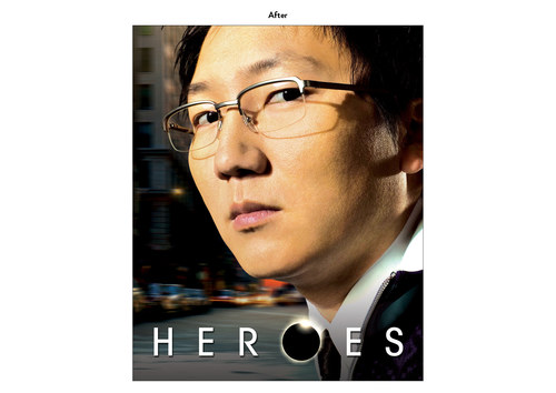 Heroes - Hiro Character | NBC Show Key Art (After)