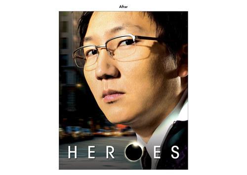 Heroes - Hiro Character | NBC Show Key Art (After)