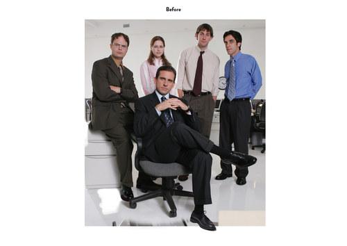 The Office, Season 2 | NBC Emmy Mailer Art (Before)