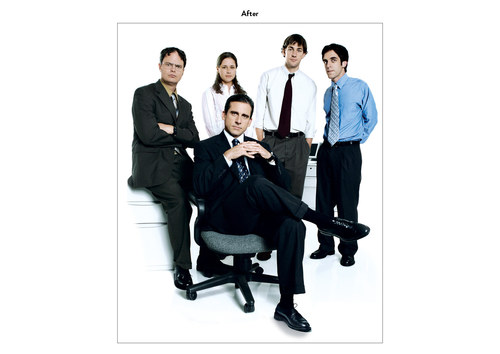The Office, Season 2 | NBC Emmy Mailer Art (After)