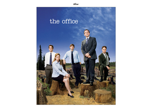 The Office, Season 4 | NBC Show Key Art (After)