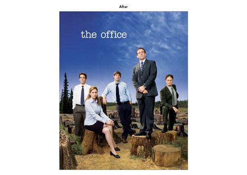 The Office, Season 4 | NBC Show Key Art (After)