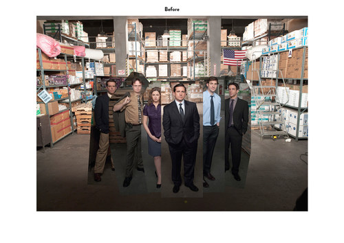 The Office, Season 6 | NBC Show Key Art (Before)