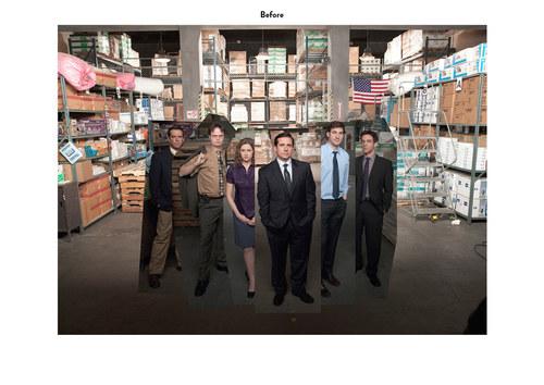 The Office, Season 6 | NBC Show Key Art (Before)