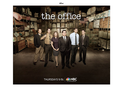 The Office, Season 6 | NBC Show Key Art (After)