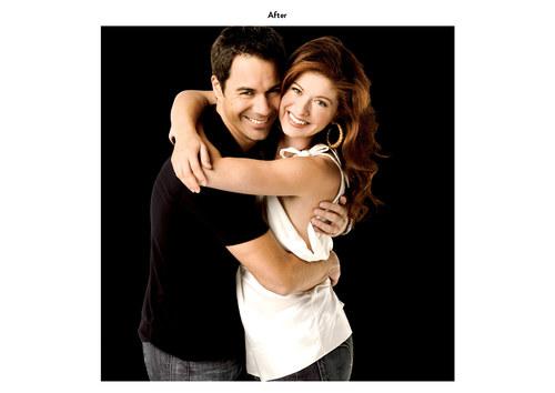 Will & Grace - Eric & Debra | NBC Emmy Mailer Art (After)