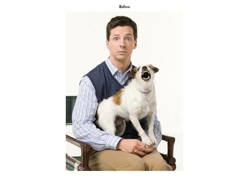 Will & Grace - Sean | NBC Emmy Mailer Art (Before)