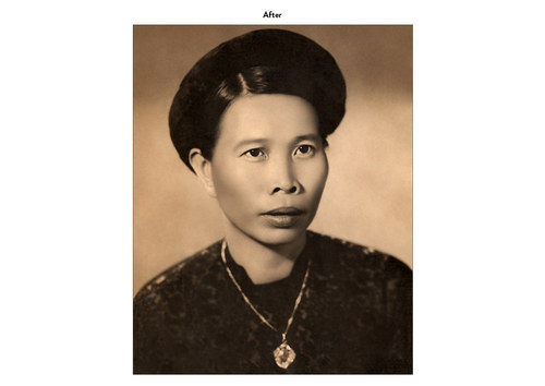 Asian Woman | Photo Restoration (After)