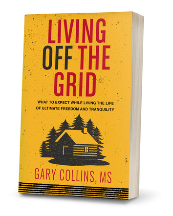 Living Off The Grid | Paperback Cover Design