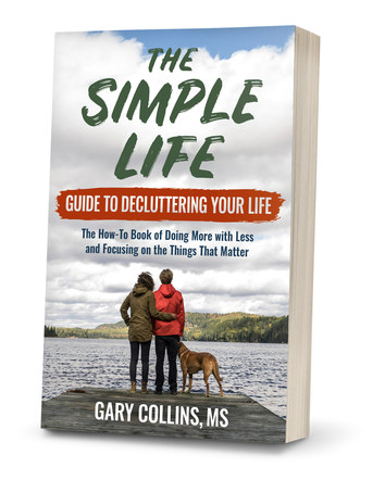The Simple Life Guide to Decluttering Your Life | Paperback Cover Design