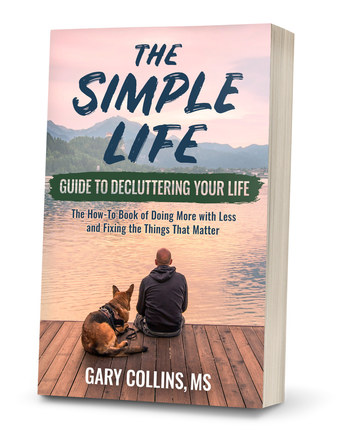 The Simple Life Guide to Decluttering Your Life | Alternate Paperback Cover Design