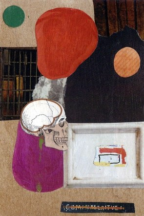 Commemorative, Perhaps - Mixed Media Collage (on paper) - 2014