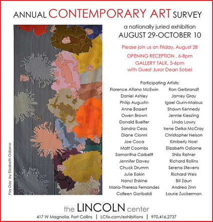 Fort Collins Lincoln Center's Annual Contemporary Art Survey, October 2015