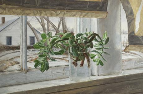 Jade at Painter's Window