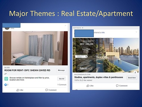 Major Theme: Real Estate