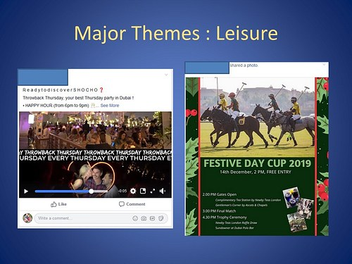 Major Theme: Leisure