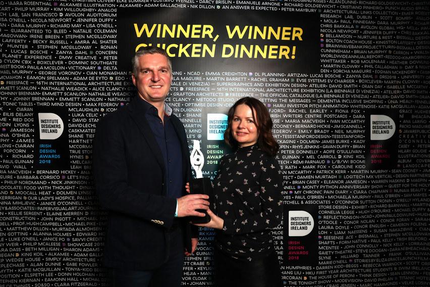Winner Emerging Designer Award - IDI Awards 2018
