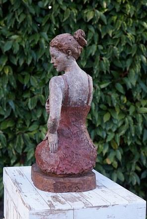 Girl in a Red Dress | Terracotta
