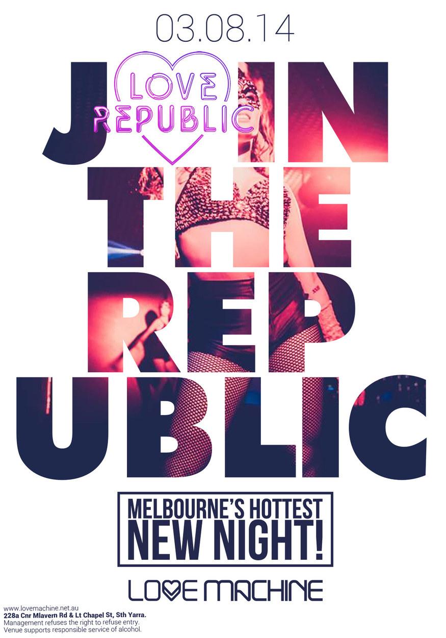 Love Republic Flyer 03.08.14
