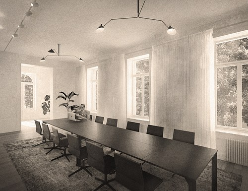 Meeting room_#sepia