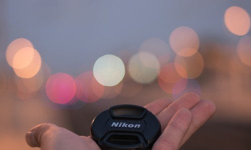 Bokeh on the station