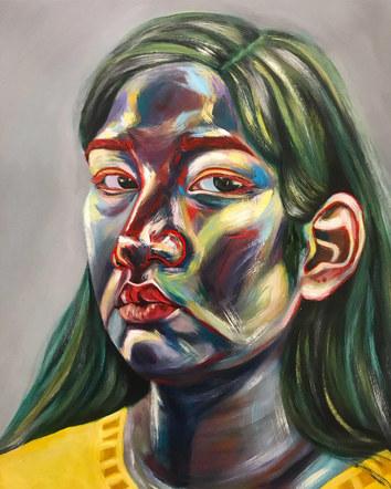 Gestural Self Portrait
