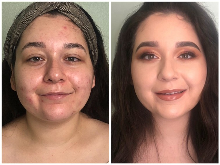 Before & After GLAM!