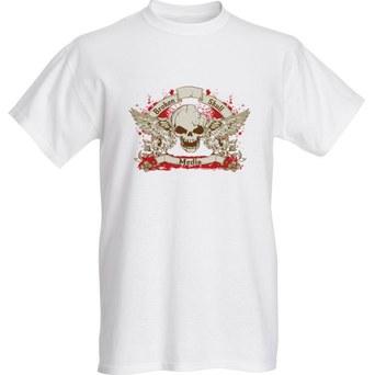 White BSM shirt