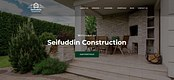 Seifuddin Construction Content