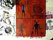 Petroglyph painting series