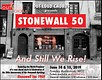 Stonewall 50 concert marketing 1