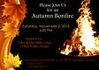 Bonfire Invite