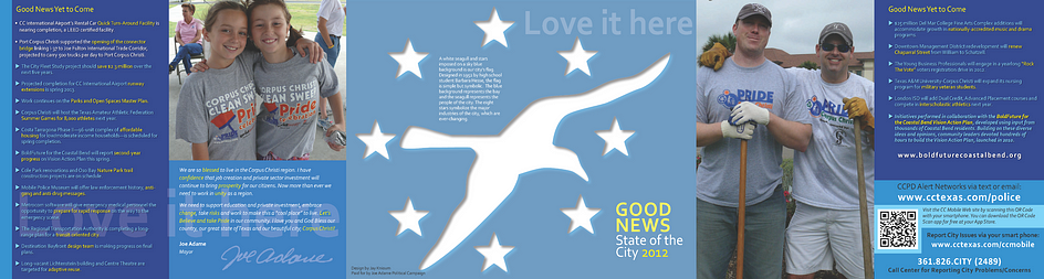 State of City brochure
