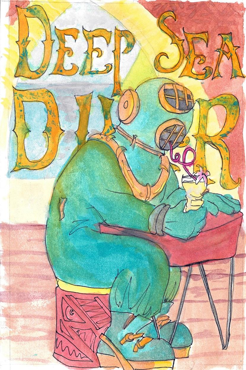 Tiki Drinks: Deep Sea Diver