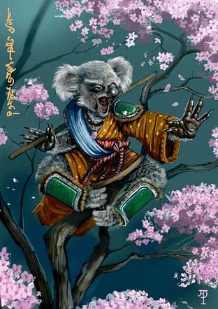 Ninja Koala