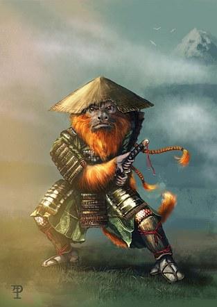 Samurai Tamarin
