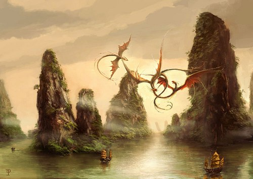 Flying Dragons and Chinese Junks