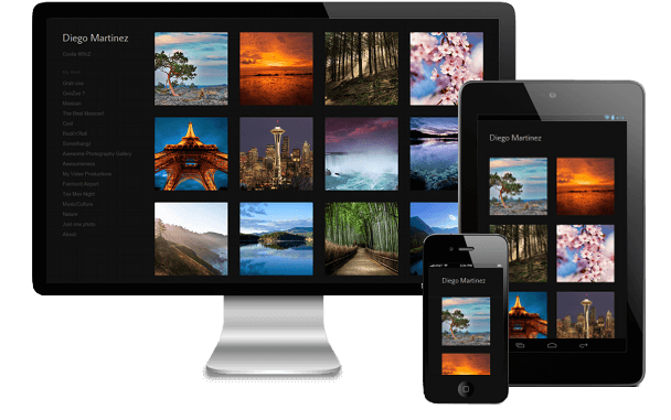 responsive online designer portfolio websites for any device